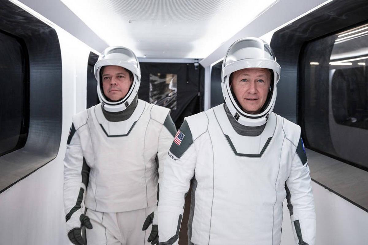 Le immagini del secondo tentativo di lancio della missione SpaceX Demo-2