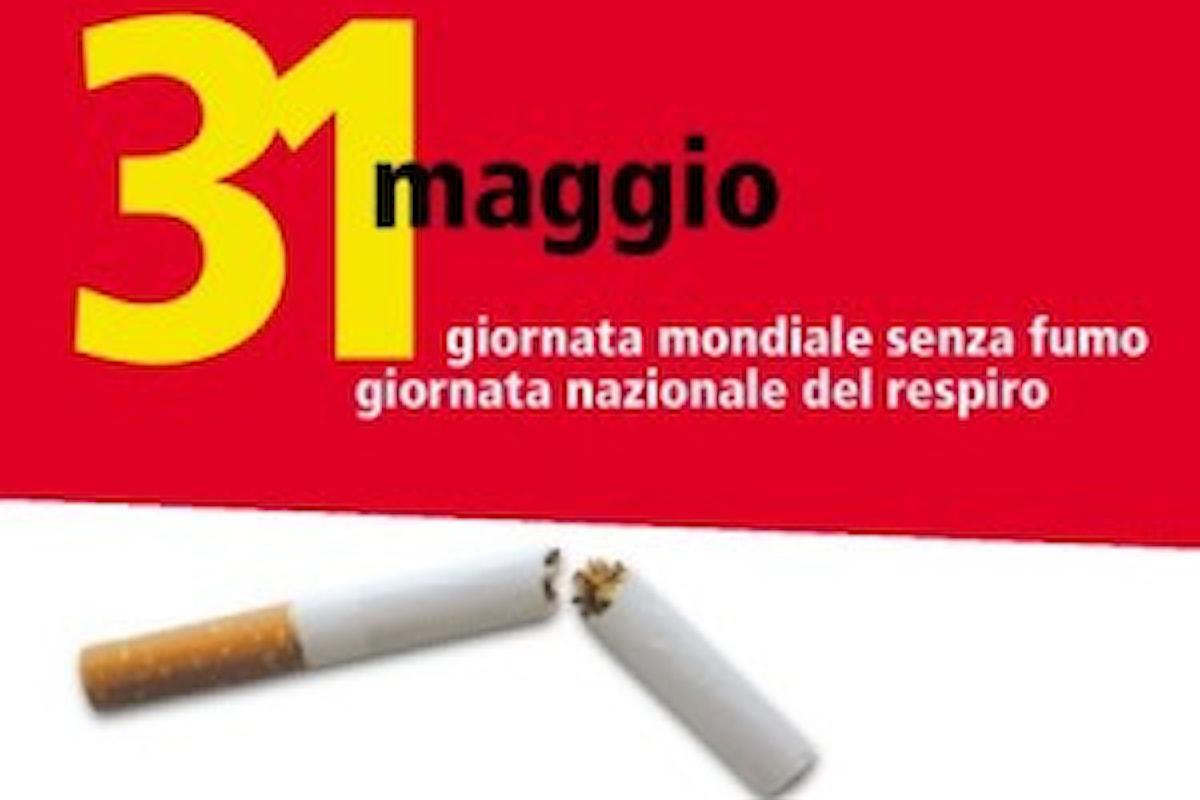 Il 31 maggio si celebra la giornata mondiale senza tabacco