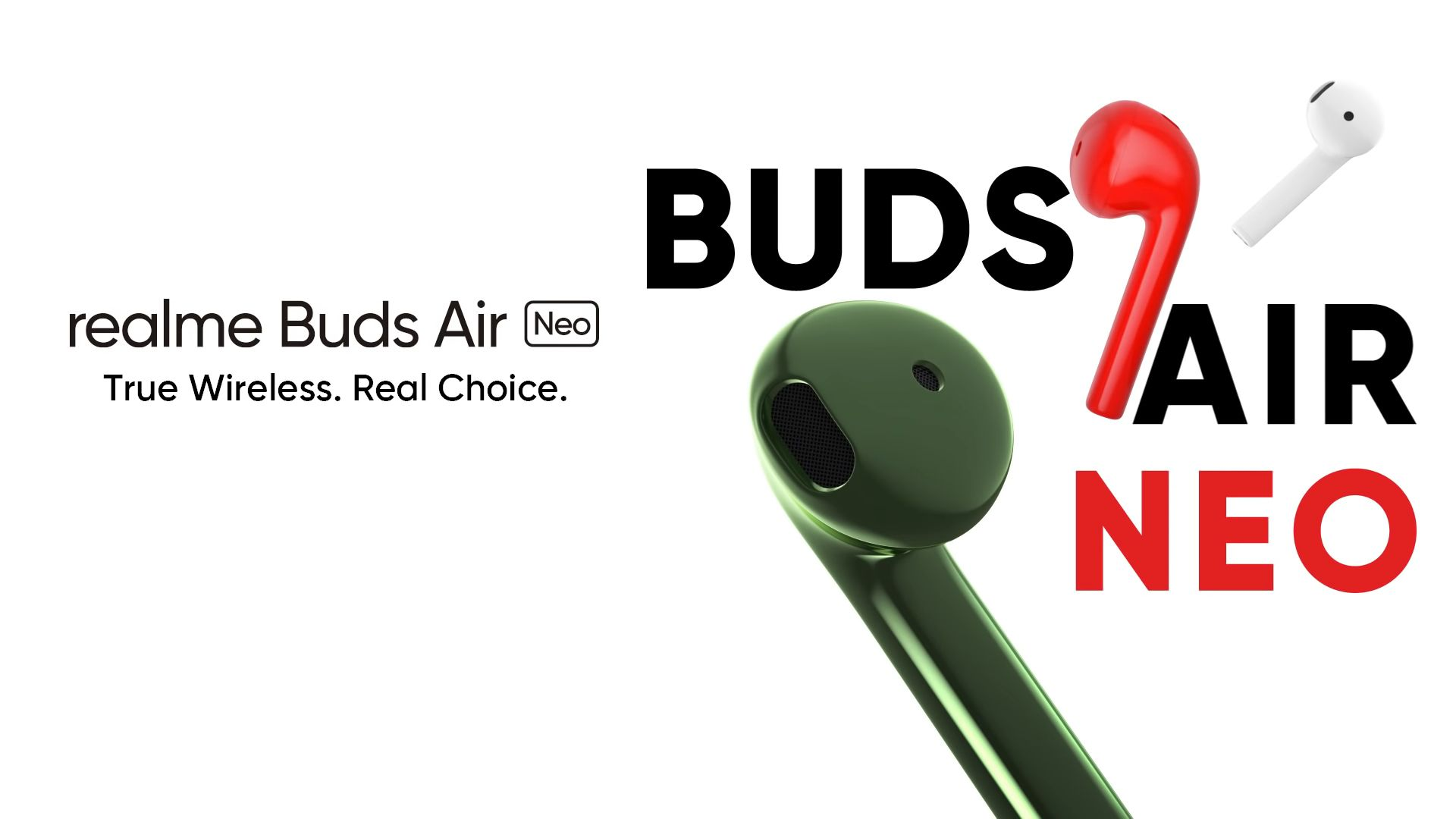 Realme Buds Air Neo presentati ufficialmente: sembrano degli AirPods, ma costano molto meno