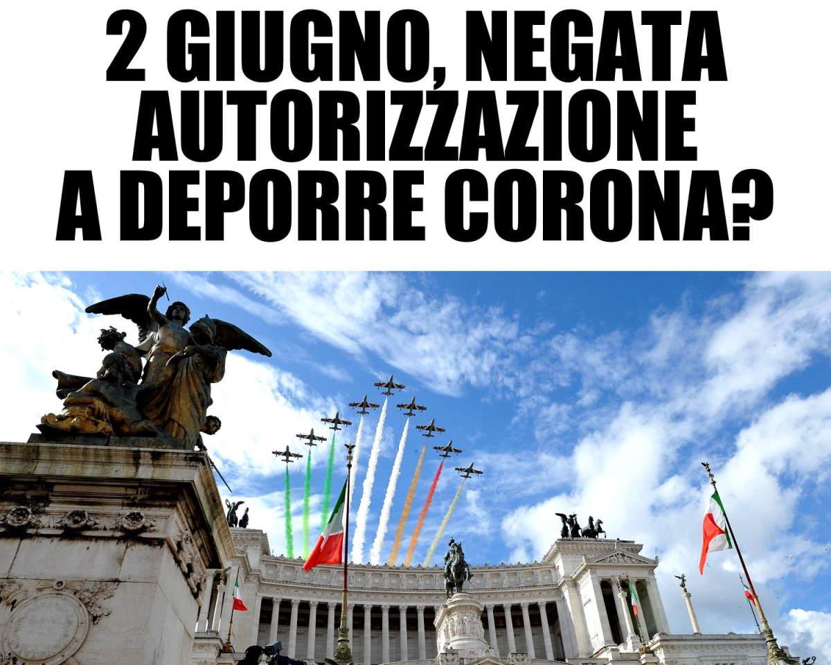 Negata ai primatisti l'autorizzazione a deporre una corona di fiori all'Altare della Patria: attentato alla democrazia!