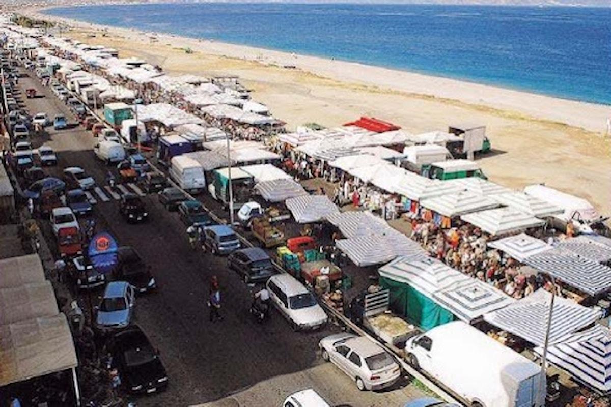 Milazzo (ME) - Giovedì 28 maggio ritorna il mercato settimanale di Ponente