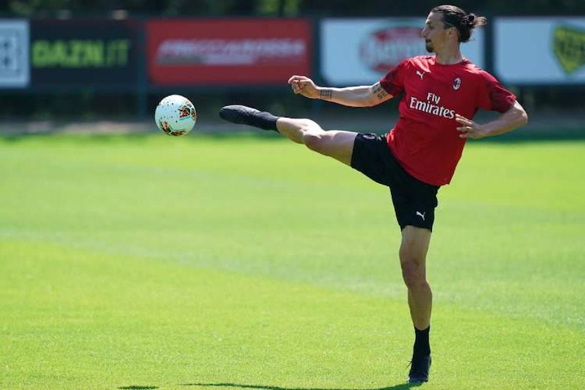 Milan, ecco l'entità dell'infortunio di Ibrahimovic