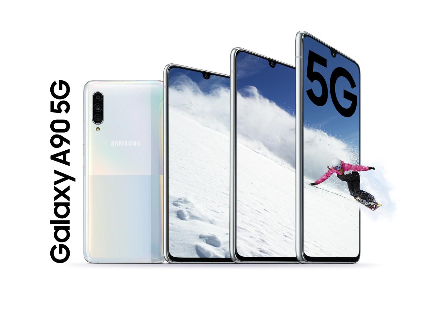 Galaxy A90 5G può essere acquistato ufficialmente in Italia. Lo smartphone 5G di Samsung con processore Qualcomm