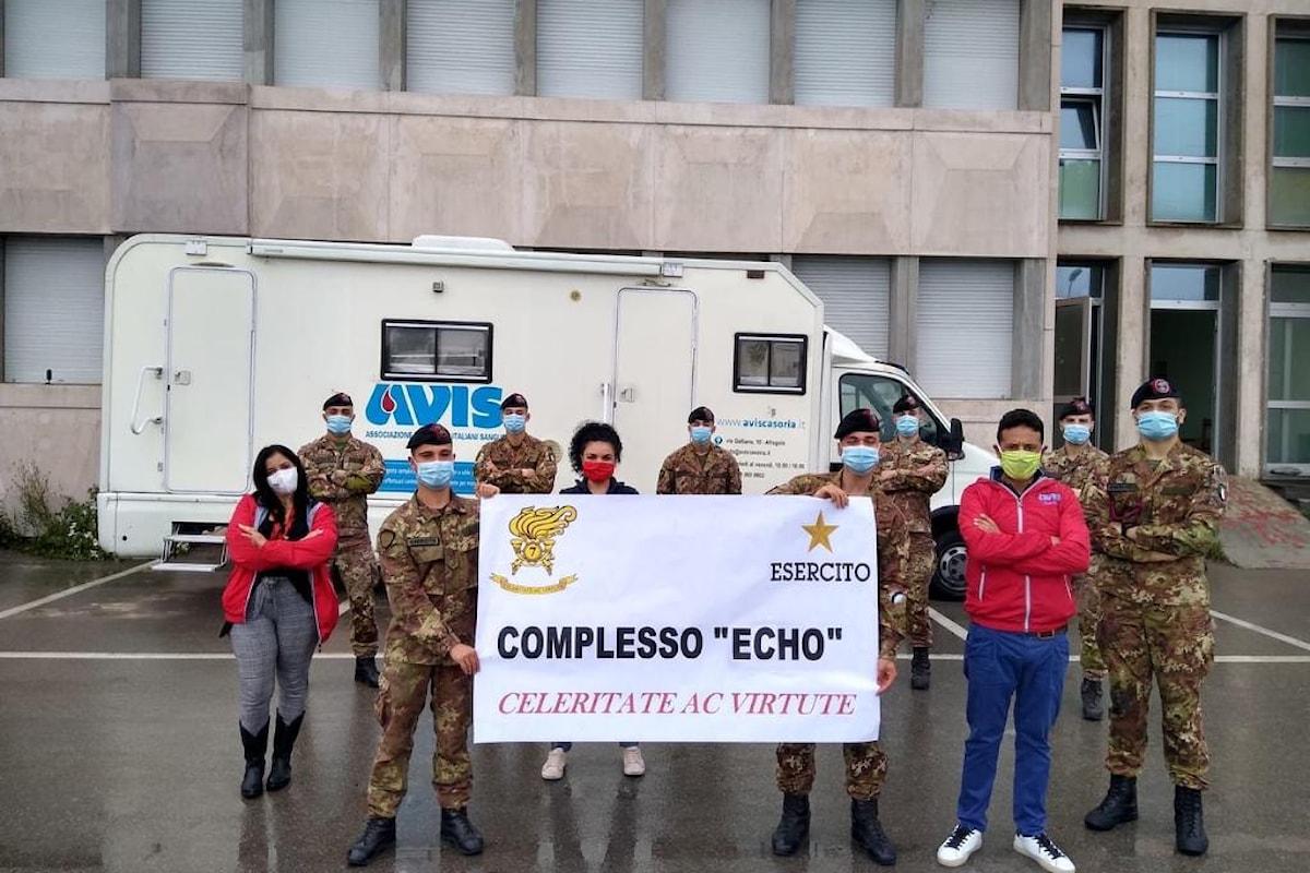 Pozzuoli: i Bersaglieri del 7° Reggimento di Altamura donano il sangue all'AVIS per l'Ospedale di Aversa