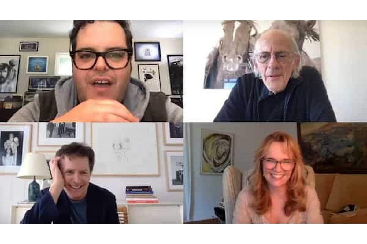 Ritorno al Futuro: il cast si riunisce virtualmente ricreando alcune scene cult. Il video è unico!