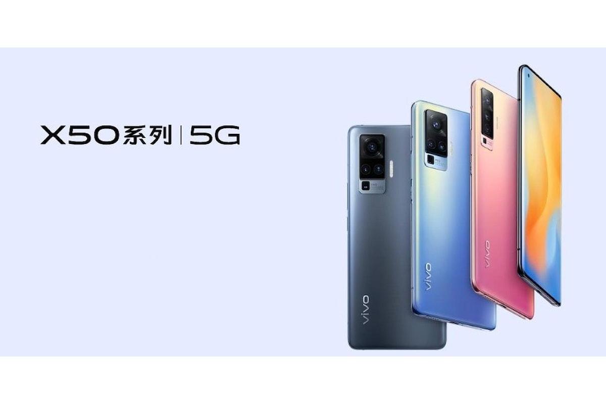 Vivo X50 Pro è stato presentato ufficialmente: il primo smartphone al mondo ad utilizzare una gimbal camera