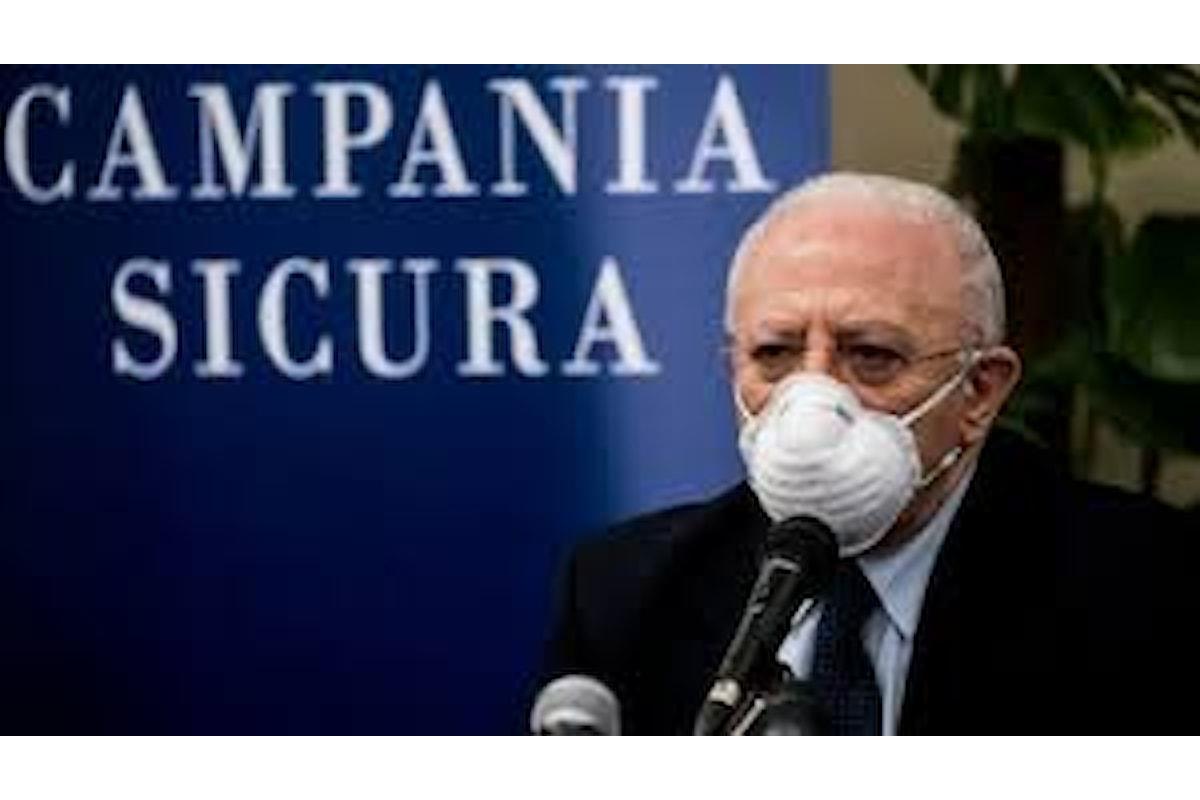 De Luca categorico: entro ottobre in Campania vaccino antinfluenzale per tutti, ma...