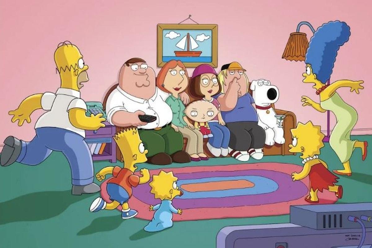 I Simpson e I Griffin: stop ai doppiatori bianchi dei personaggi di colore