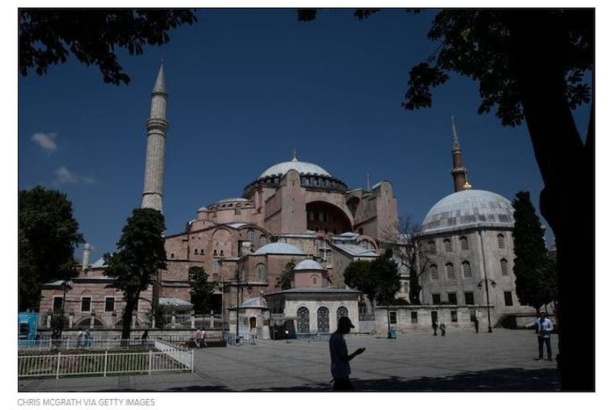 Turchia Santa Sofia di nuovo Moschea