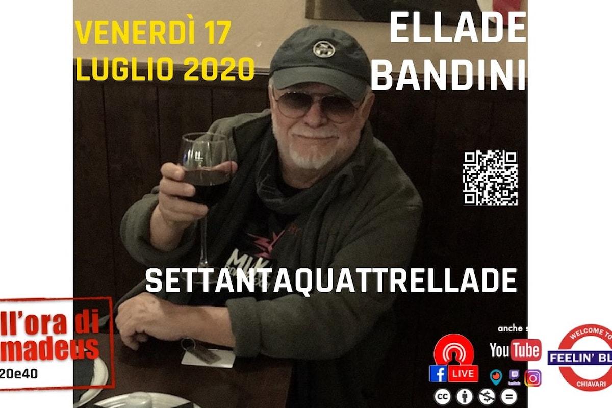 #settantaquattrellade, libiamo i calici per il 74esimo compleanno del maestro Ellade Bandini
