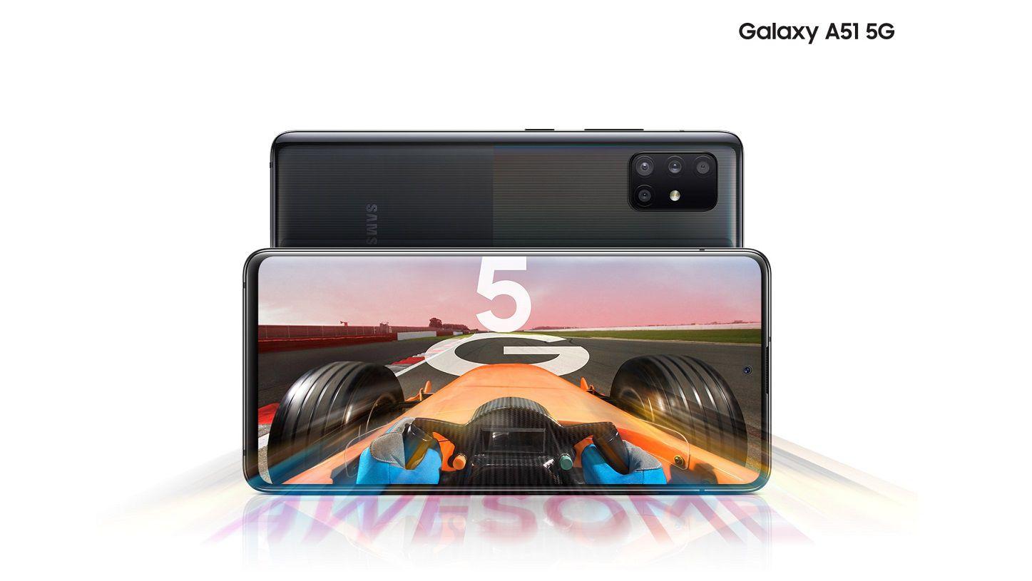 Samsung Galaxy A51 5G disponibile ufficialmente anche in Italia: uno smartphone 5G di fascia media