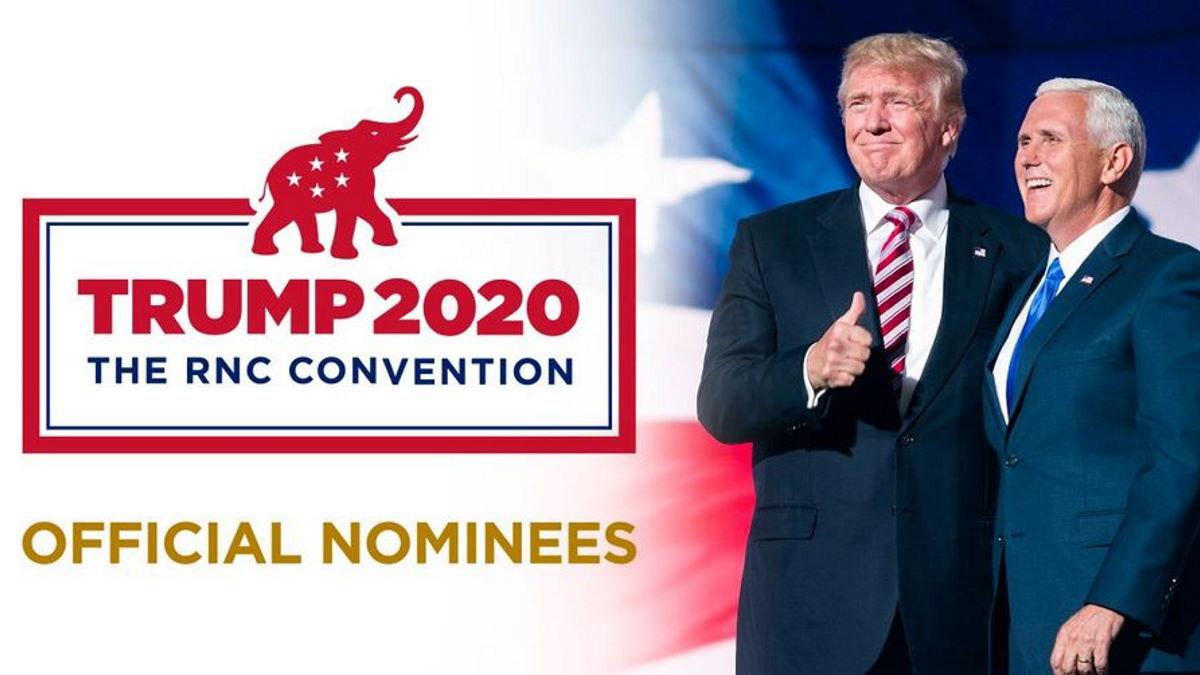 Il ticket Trump-Pence nominato ufficialmente alla Convention di Charlotte per la candidatura repubblicana alle presidenziali 2020