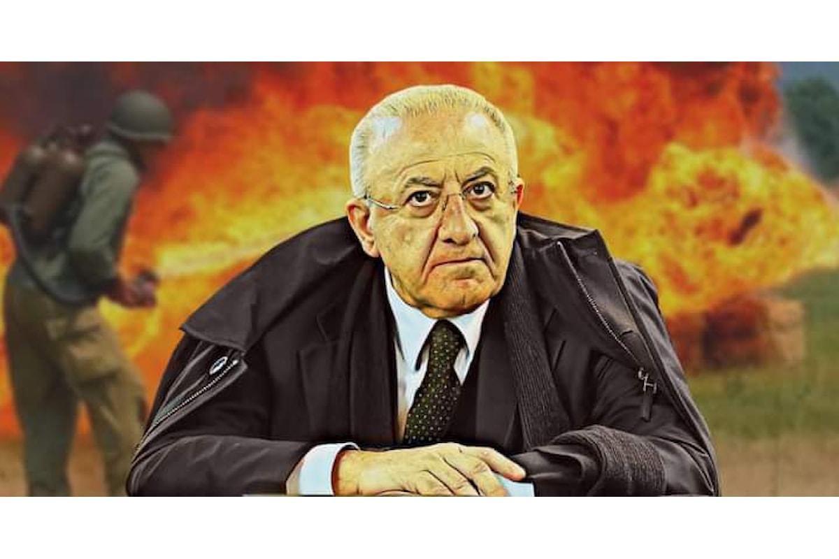 Vincenzo De Luca: l'eterno incazzato, l'uomo che non deve chiedere mai...