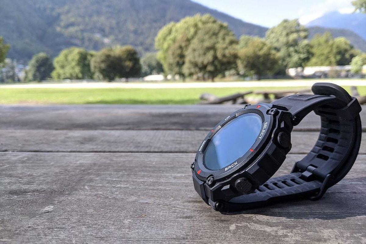 La recensione dell'Amazfit T-Rex: smartwatch rugged con la solita qualità di Amazfit