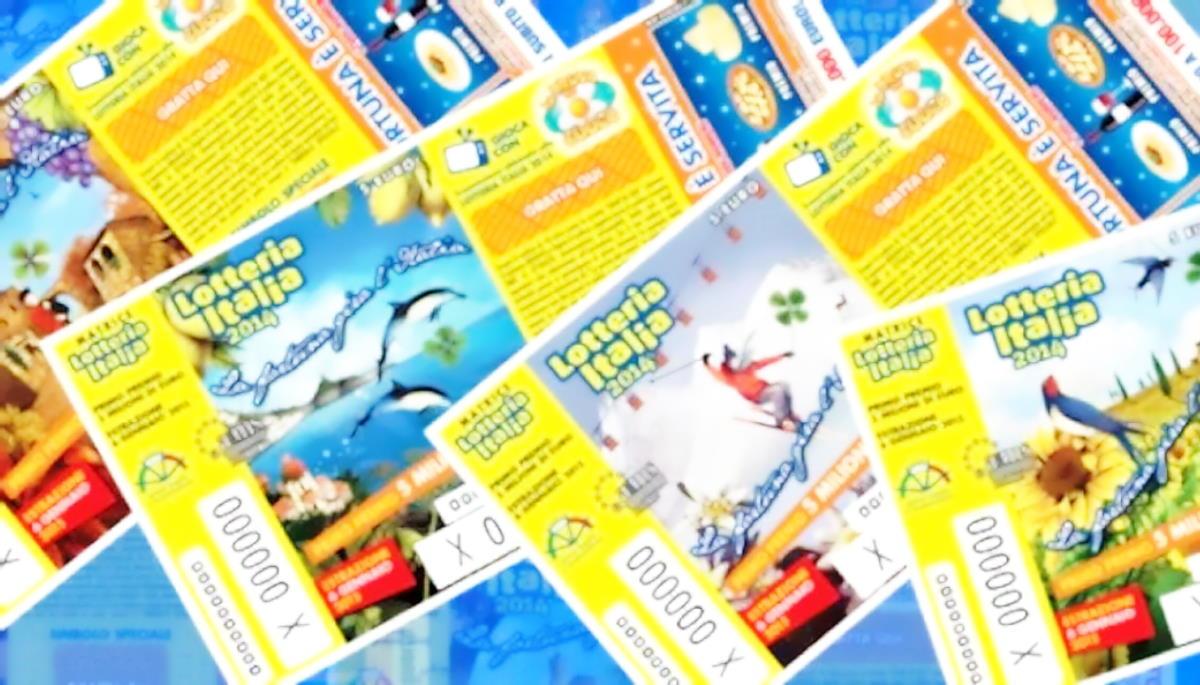 Lotteria Italia 2021: primo premio 5 milioni di euro, estrazioni il 6 gennaio 2021