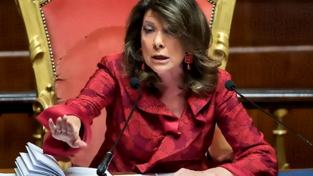 Due senatori 5 Stelle contagiati dal coronavirus ma il Senato non chiude, parola di Casellati
