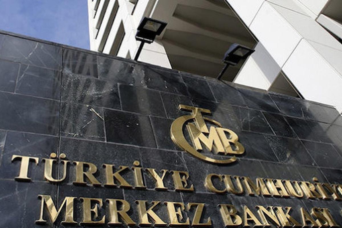Mercati, sorpresona dalla Turchia: la CBRT alza i tassi dopo anni