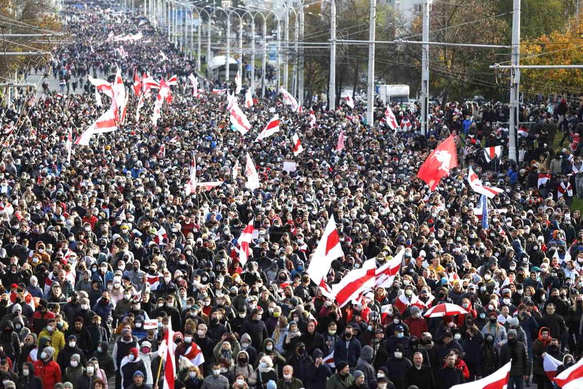 In Bielorussia decimo fine settimana di protesta per chiedere le dimissioni di Lukashenko