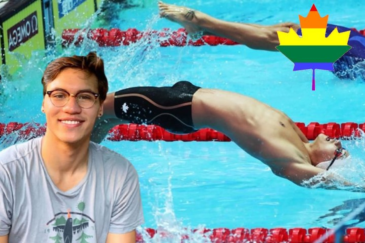 """Nuoto canadese, coming out di Markus Thormeyer: """"Sono gay"""""""
