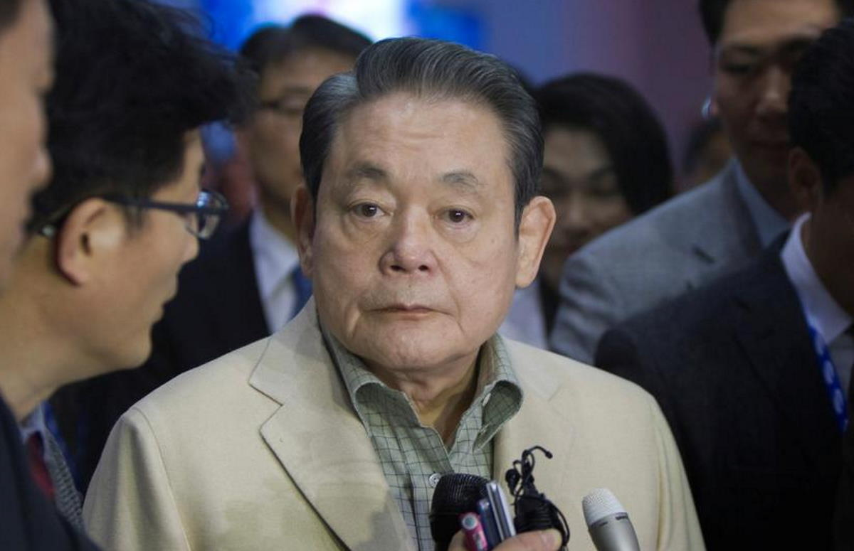 Samsung, è morto il presidente Lee Kun-hee