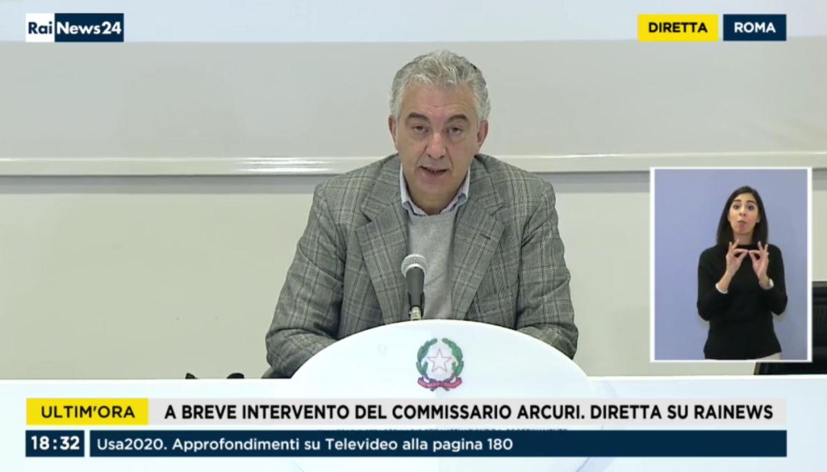 Ecco in sintesi cosa ha detto ieri il commissario Arcuri sulla nuova emergenza Covid