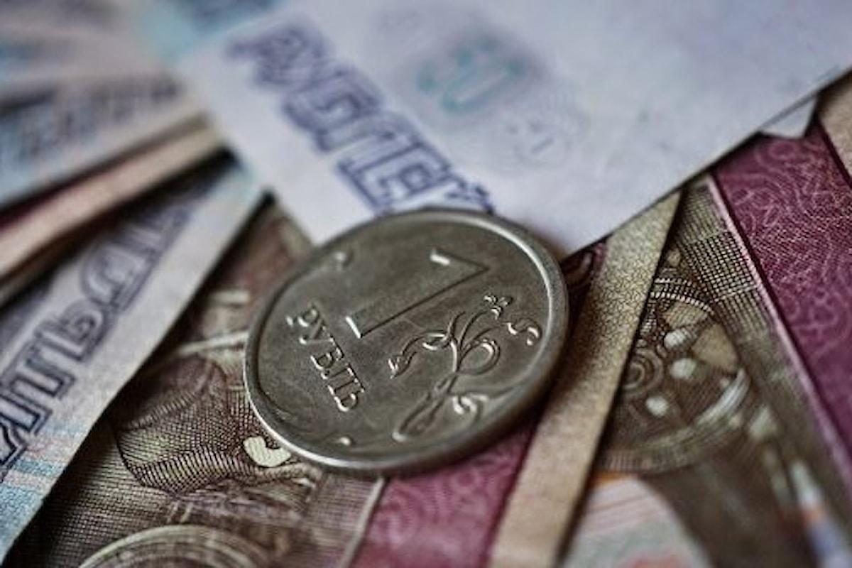 Valute, spinge forte il rublo russo grazie a diversi fattori (specie il petrolio)