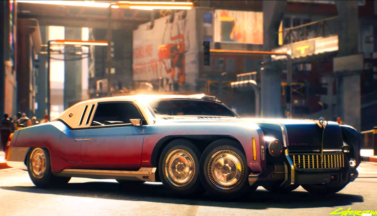 Le auto più folli di cyberpunk 2077