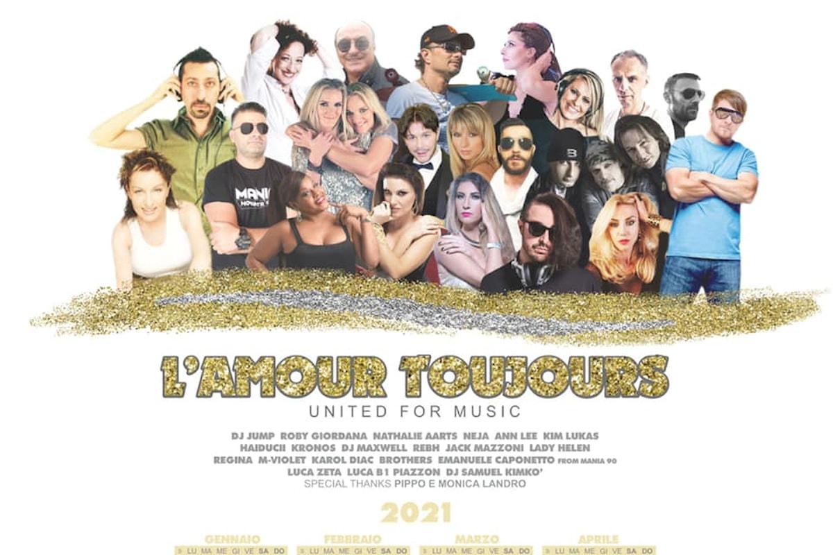 L'Amour Toujours: la cover benefica a favore di Scena Unita - News by AllaDiscoteca