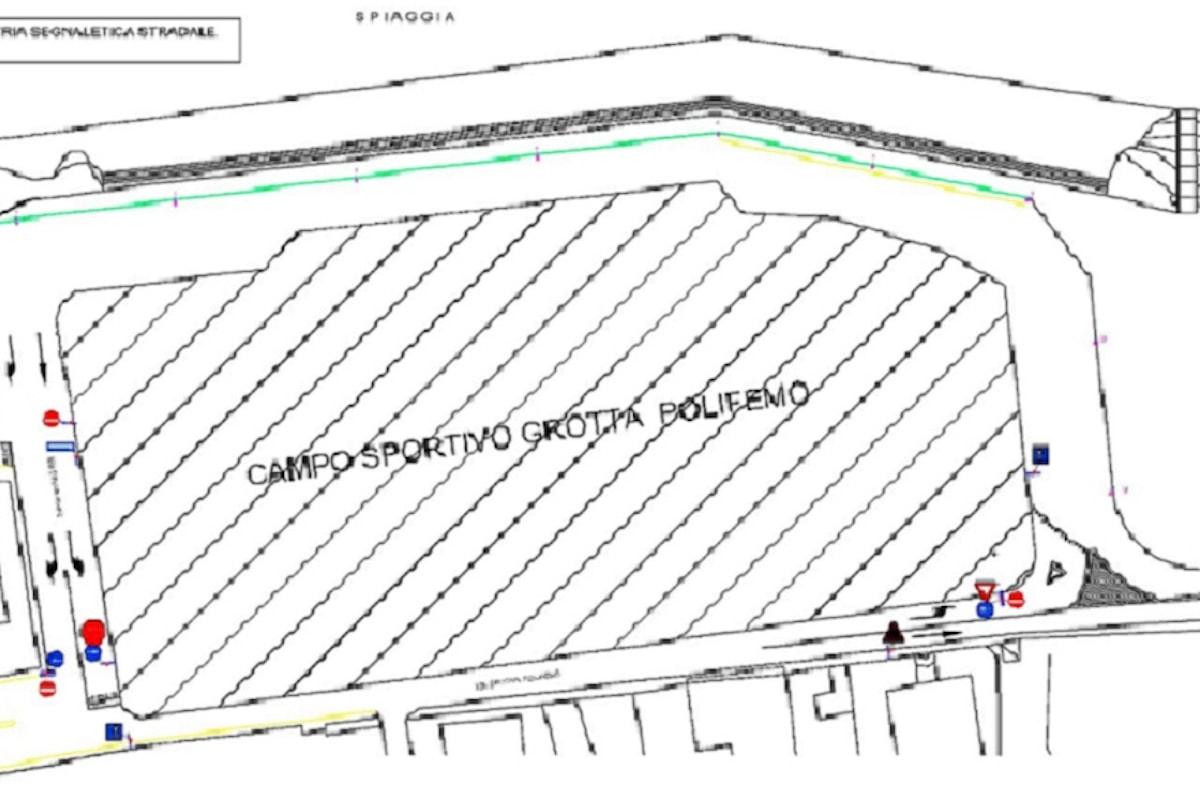 """Milazzo (ME) - Sarà realizzata la strada alle spalle dello stadio """"Salmeri"""""""
