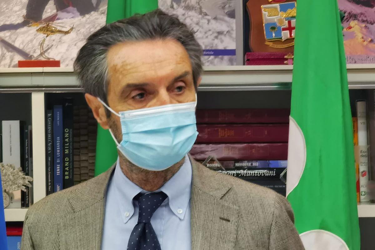 Fontana accusa Roma per la Lombardia in zona rossa, ma per l'opposizione in giunta è lui ad avere sbagliato