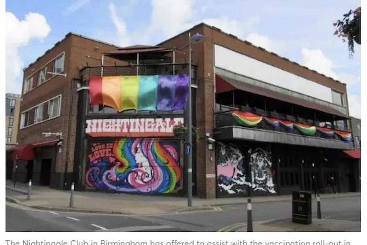 Lo storico locale LGBT+ di Birmingham pronto ad aiutare con le vaccinazioni anti-Covid