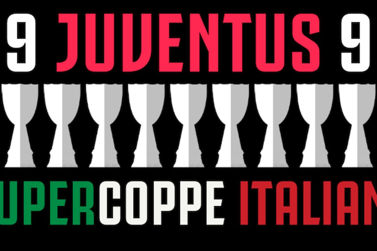 Juventus: una carrellata sulle nove vittorie in Supercoppa italiana