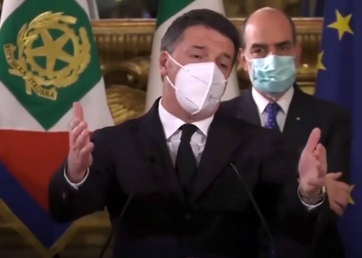 Renzi è un problema creato dal Pd che adesso il Pd potrebbe risolvere... in un attimo