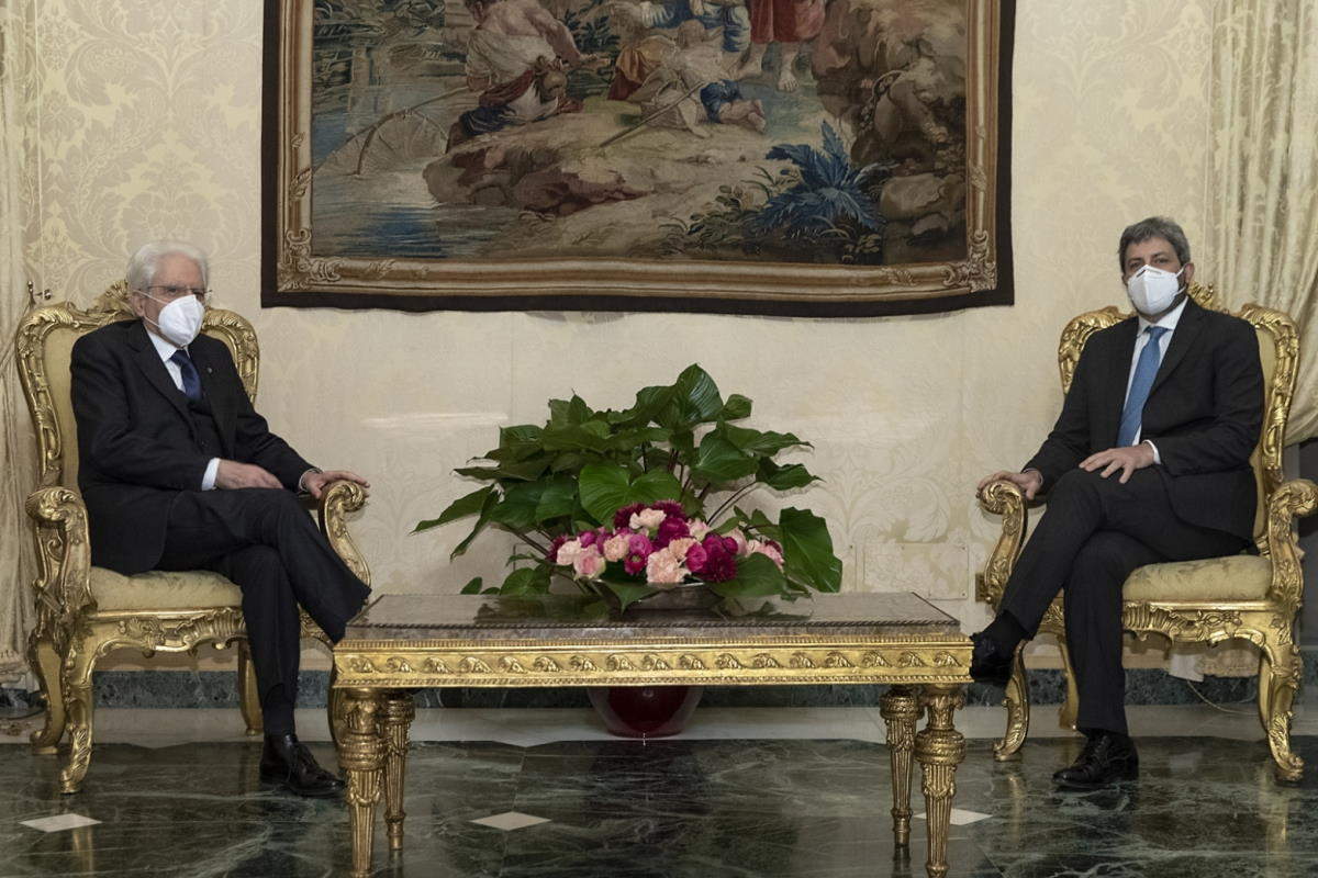 Mattarella dà un incarico esplorativo a Roberto Fico del Movimento 5 Stelle
