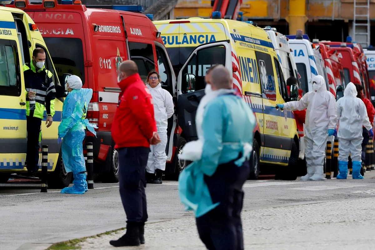 Drammatica la situazione del contagio da coronavirus in Portogallo