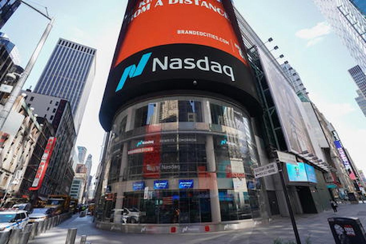 Wall Street in calo con la fuga dai tecnologici