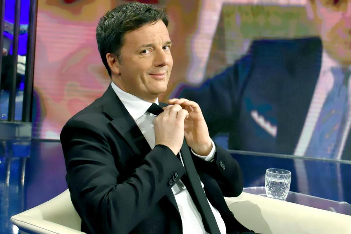 Mario Draghi simbolo dell'enorme contraddizione del lobbista Renzi