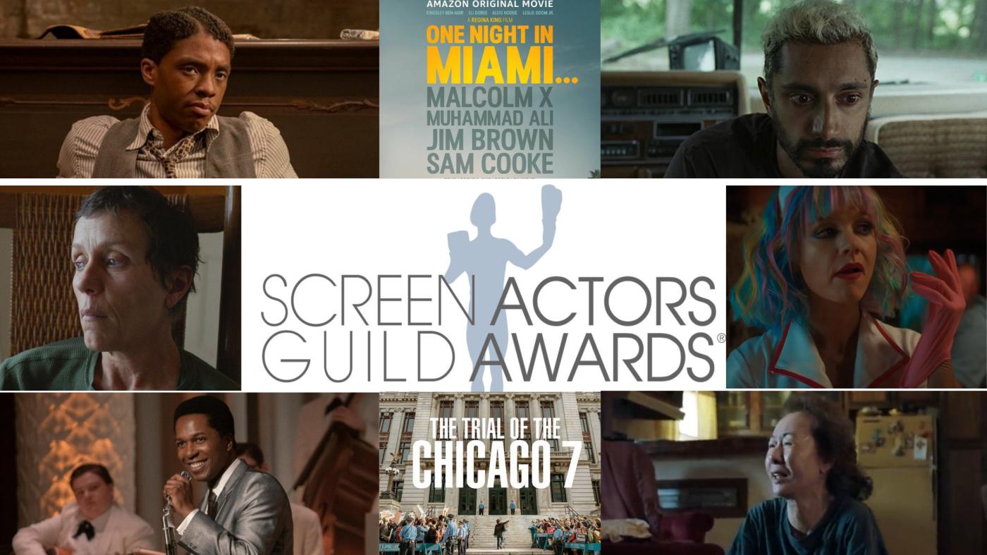 Nominations Screen Actors Guild Awards 2021: chi ha più chance per gli Oscar?
