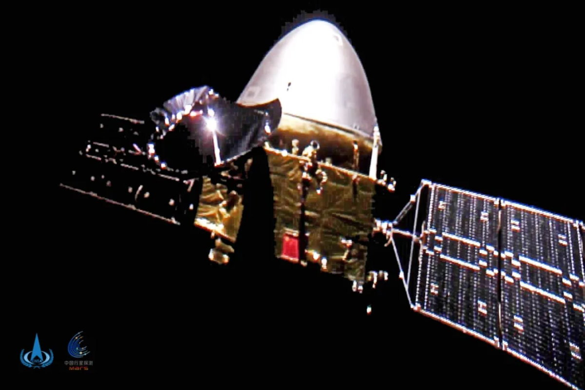 Anche la sonda cinese Tianwen-1 ha raggiunto Marte
