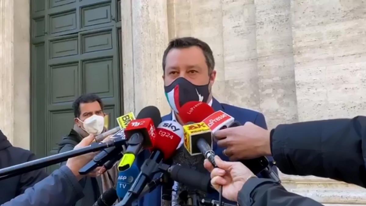 Lo sci, il lockdown, il nuovo governo e Salvini: se il buongiorno si vede dal mattino...