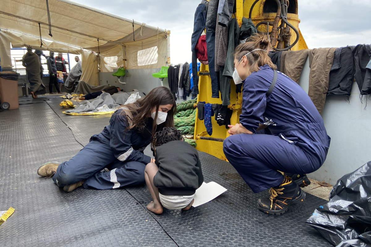 1 marzo: 363 le persone a bordo di Sea-Watch 3 in attesa di un PoS