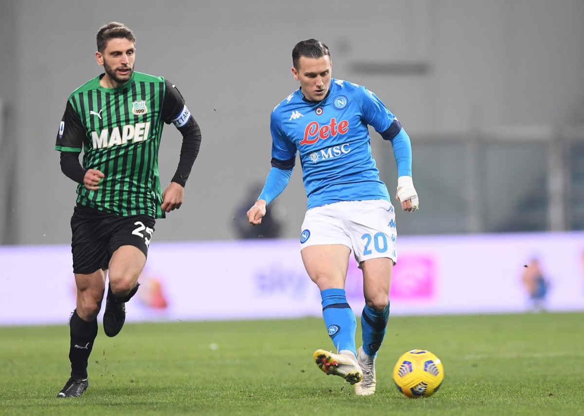 Sei gol, rapidi capovolgimento di fronte, emozioni fino all'ultimo, il match tra Sassuolo e Napoli terminato 3-3
