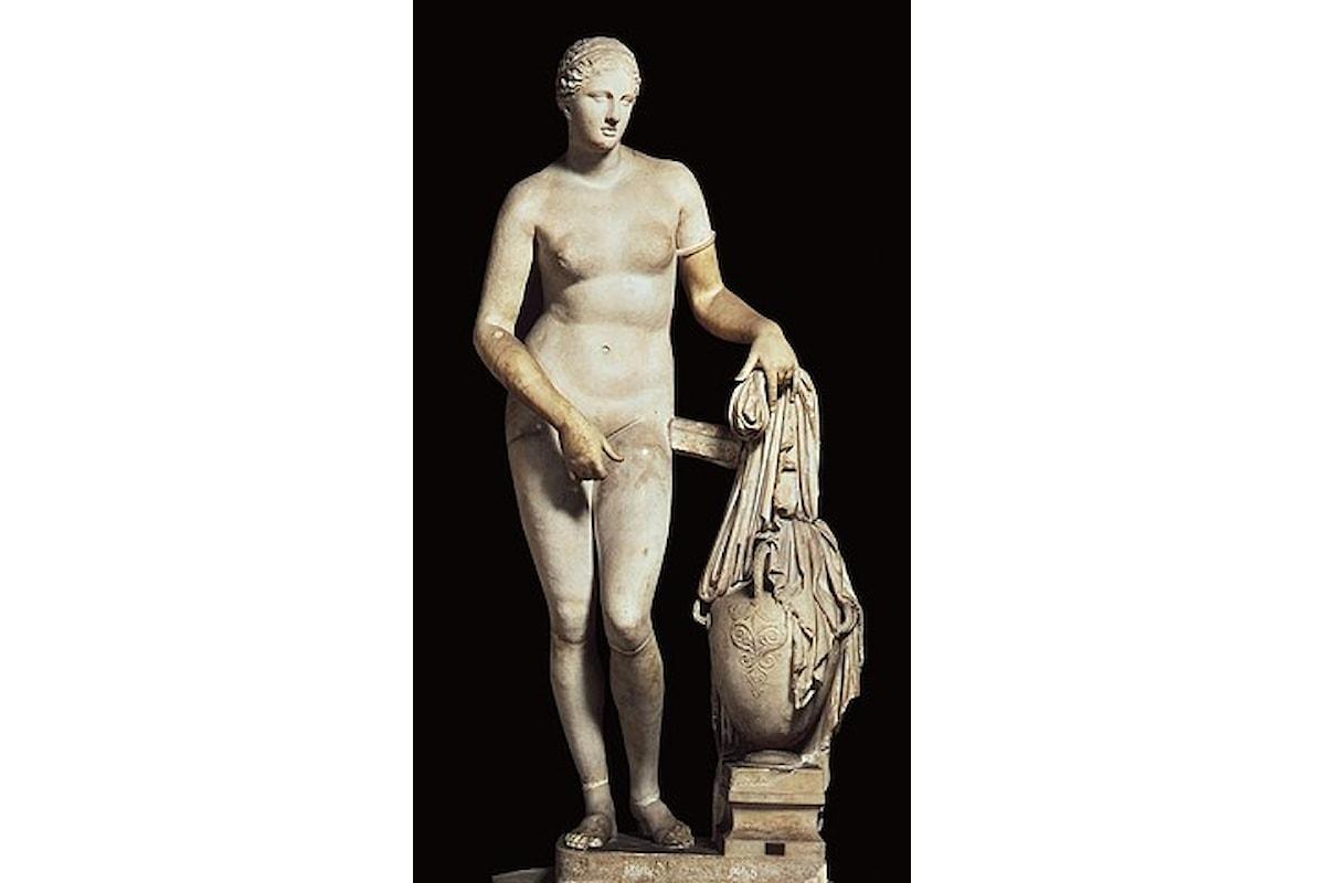 Copia di statua Prassitele a Palazzo Pitti