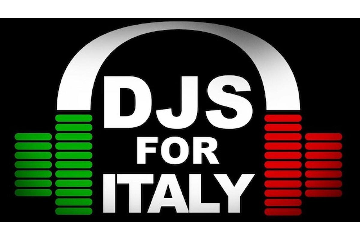 DJS FOR ITALY: 50 dj italiani per beneficenza l'1 maggio su Dj Osso Radio