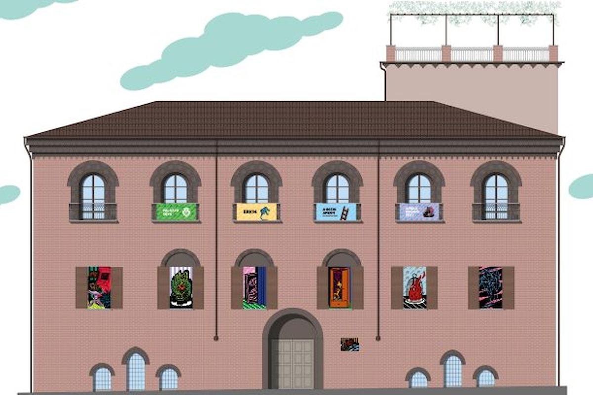 Musei chiusi? Ci pensa Erk14 con A OCCHI APERTI! Dal 16 Aprile ad Asti una spettacolare installazione a Palazzo Zoya