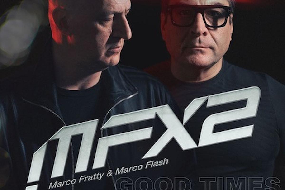 Marco Fratty & Marco Flash remixano Good Times, classico disco