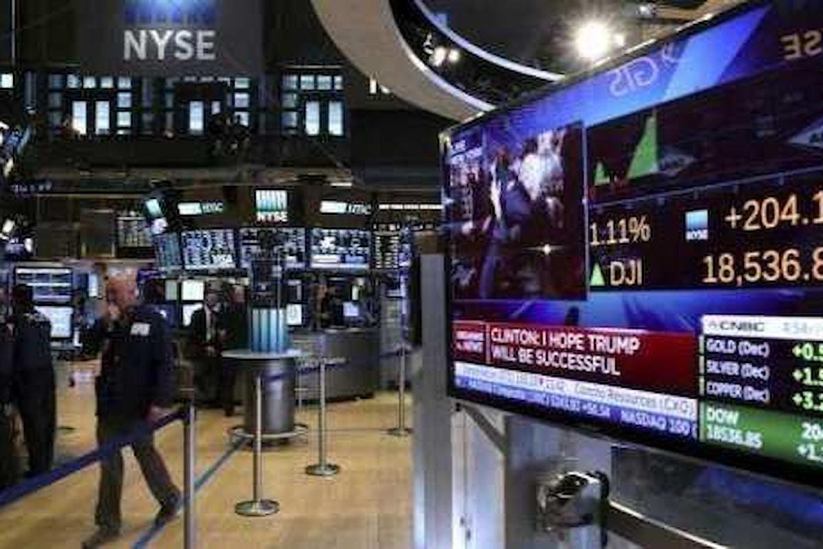 Mercati, il focus di questa settimana è sulle trimestrali delle aziende USA