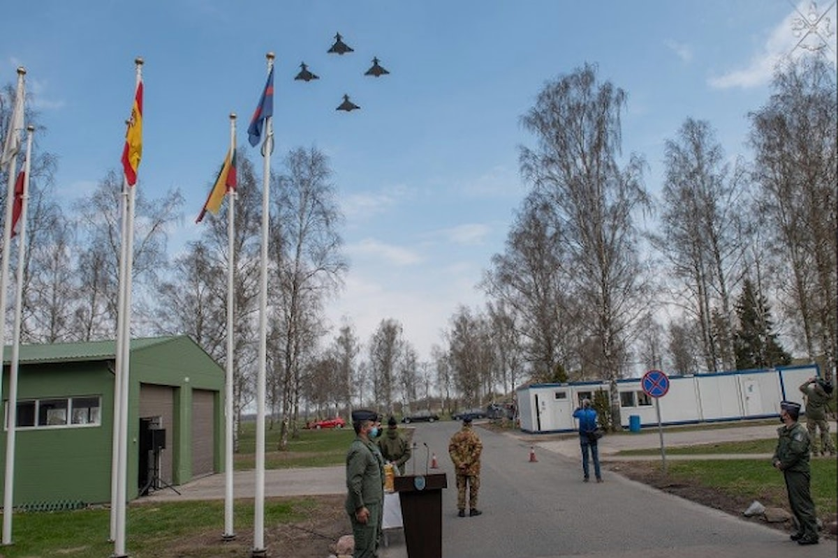 Lituania, militari italiani portano a termine la missione di difesa aerea Baltic Thunder