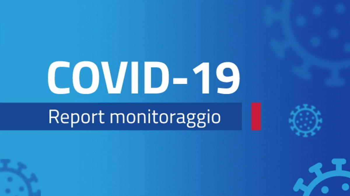 Report monitoraggio Covid dal 3 al 9 maggio 2021