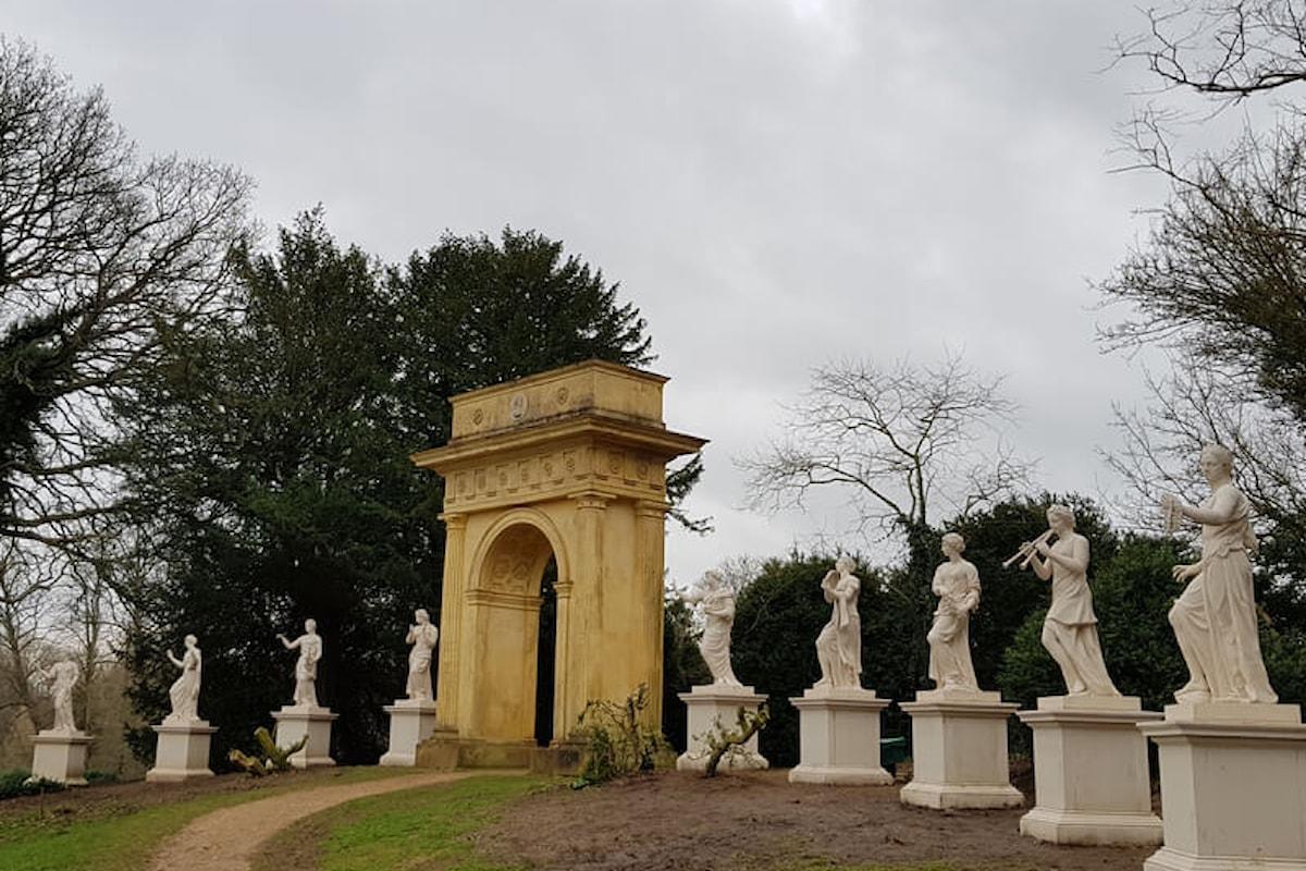 Statue perdute delle Nove Muse ricreate a Stowe dopo quasi 100 anni